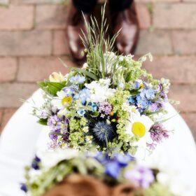 Braut und Bräutigam im Detail von oben - Müden Örtze © Hochzeitsfotograf Photo Professional Misiak