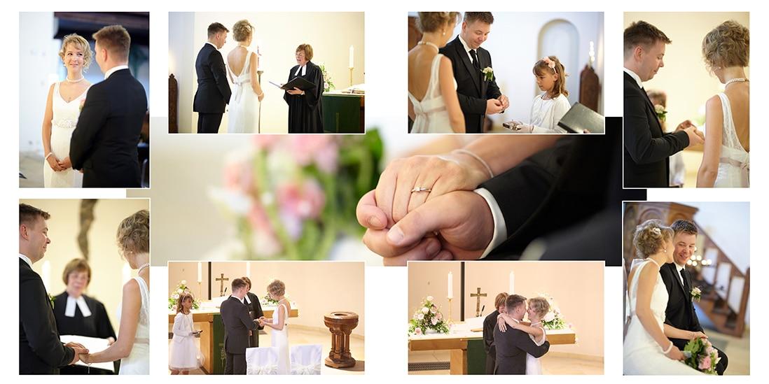 Innengestaltung Hochzeitsbuch mit Trauungsdetails - © Hochzeitsfotograf www.hochzeitsverliebt.de