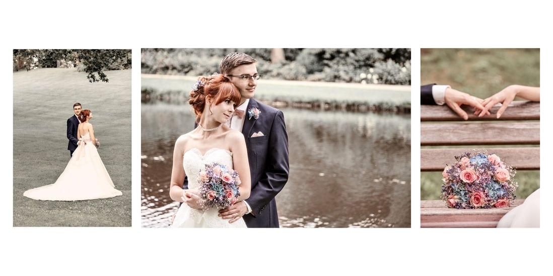 Hochzeitsfotobuch mit Panoramagestaltung und weiss - © Hochzeitsfotograf www.hochzeitsverliebt.de