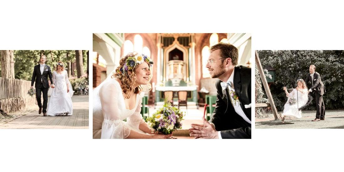 Hochzeitsalbum mit weiss als Gestaltungslinie- © Hochzeitsfotograf www.hochzeitsverliebt.de