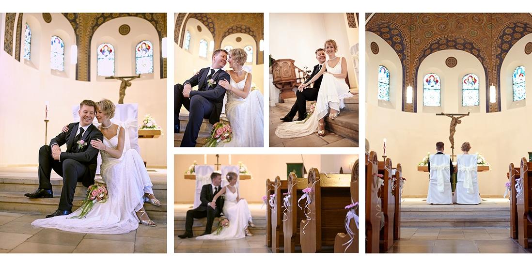 Gestaltung Fotobuch Hochzeit über zwei Seiten - © Hochzeitsfotograf www.hochzeitsverliebt.de